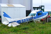 G-BRBF @ EGNG - one of the many wrecks and relics at Bagby Airfield, Yorkshire - by Chris Hall