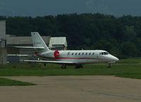 D-CVHA @ LSZR - Cessna 680 - by Thomas Ranner