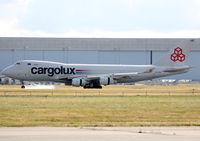 LX-YCV @ LFBO - Landing rwy 14R - by Shunn311