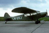 LN-UXJ @ EHGG - still in its former military colours. From the G.bouma collection. - by Joop de Groot