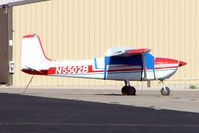 N5502B @ BVU - 1956 Cessna 182, c/n: 33502 at Boulder City