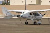 N747LM @ VGT - Flight Design Gmbh CTLS, c/n: F-09-04-07 at North Las Vegas