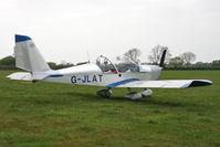 G-JLAT @ EGBR - Aerotechnik EV97 Eurostar at Breighton Airfield in April 2011. - by Malcolm Clarke