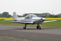 G-PDGG @ EGBR - Aeromere Falco F8L Srs 3 at Breighton Airfield, UK in April 2011. - by Malcolm Clarke