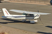 N761YE @ BVU - 1981 Cessna A152, c/n: A1520997 at Boulder City