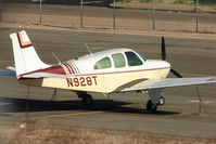 N928T @ BVU - 1960 Beech 35-33, c/n: CD-142 at Boulder City