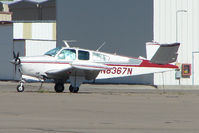 N8367N @ BVU - 1968 Beech V35A, c/n: D-8749 at Boulder City