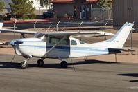 N8468Z @ BVU - 1963 Cessna 210-5(205), c/n: 2050468 at Boulder City
