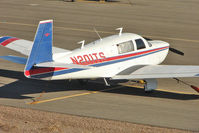 N201TS @ BVU - 1977 Mooney M20J, c/n: 24-0077 at Boulder City