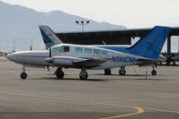 N598DM @ VGT - 1979 Cessna 402C, c/n: 402C0114 at North Las Vegas
