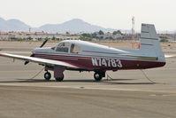 N74783 @ VGT - 1961 Mooney M20B, c/n: 1783 at North Las Vegas