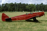 G-AFPN - 2004 Moth Rally in the backgarden of Woburn Abbey.
