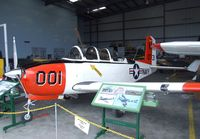 N341MR @ KCMA - Beechcraft D-45 (T-34B Mentor) at the Commemorative Air Force Southern California Wing's WW II Aviation Museum, Camarillo CA