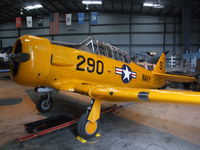 N89014 @ KCMA - North American SNJ-5 at the Commemorative Air Force Southern California Wing's WW II Aviation Museum, Camarillo CA