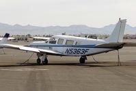 N5363F @ VGT - 1976 Piper PA-32R-300, c/n: 32R-7680510at North Las Vegas