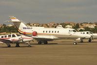 XB-RYP @ HND - 1976 Hawker Siddeley HS-125-600A, c/n: 256066 at Henderson Exec