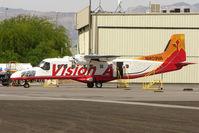 N409VA @ VGT - 1986 Dornier DORNIER 228-202, c/n: 8097 at North Las Vegas