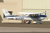 N2436V @ VGT - 2006 Cessna 182T, c/n: 18281786 at North Las Vegas