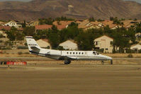 N558NC @ HND - A distant shot of 2001 Cessna 560, c/n: 560-0558 departing Henderson Exec