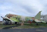 N215CM - Douglas C-47 still awaiting restoration at the Commemorative Air Force Southern California Wing's WW II Aviation Museum, Camarillo CA