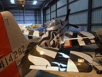 N44727 @ KCMA - North American P-51D Mustang at the Commemorative Air Force Southern California Wing's WW II Aviation Museum, Camarillo CA