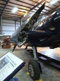 N1078Z @ KCMA - Grumman F6F-5 Hellcat at the Commemorative Air Force Southern California Wing's WW II Aviation Museum, Camarillo CA