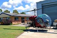 VH-AUU @ YCDR - Agusta-Bell 47G3B-1 [1534] Caloundra~VH 19/03/2007