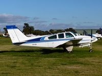 VH-ISA @ YMMB - Beechcraft D55 Baron VH-ISA at Moorabbin - by red750