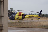 EC-KJP @ LESB - Helisureste, Aerospatiale AS 355N Ecureuil 2, CN: 5752 - by Air-Micha