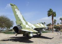163277 - General Dynamics F-16N Fighting Falcon at the Palm Springs Air Museum, Palm Springs CA - by Ingo Warnecke