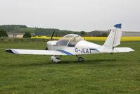G-JLAT @ EGBR - Aerotechnik EV97 Eurostar at Breighton Airfield, UK in April 2022. - by Malcolm Clarke