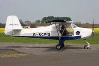 G-SCPD @ EGBR - Escapade 912(1) at Breighton Airfield, UK in April 2011. - by Malcolm Clarke