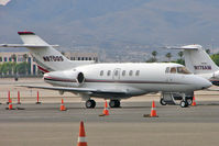 N870QS @ LAS - Netjets Hawker 800XP at Las Vegas