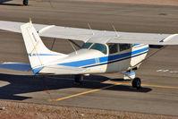 N3624U @ BVU - 1963 Cessna 182F, c/n: 18255024