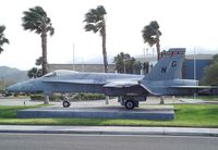 162403 - McDonnell Douglas F/A-18 Hornet at the Palm Springs Air Museum, Palm Springs CA - by Ingo Warnecke