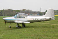 G-PDGG @ EGBR - Aeromere F8L Falco at Breighton Airfield, UK in April 2011. - by Malcolm Clarke