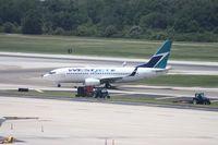 C-FMWJ @ TPA - West Jet 737