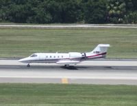 N10AH @ TPA - Lear 35A - by Florida Metal