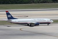 N404US @ TPA - US Airways 737-400