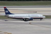 N438US @ TPA - US Airways 737-400