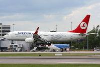 TC-JGV @ EGCC - Turkish Airlines - by Chris Hall