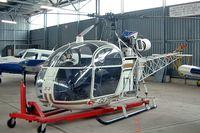 F-GLPV @ LOAV - Sud Aviation SE.3130 Alouette II [1443] Bad Voslau~OE 17/04/2005
