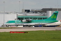 EI-REO @ EGCC - Aer Lingus regional - by Chris Hall