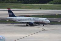 N752US @ TPA - US Airways A319