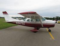 N8475Z @ KMVE - EAA 688 Fly-in Breakfast 2011 - by Kreg Anderson