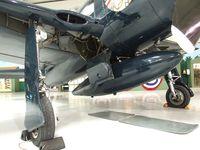 N700A @ KPSP - Grumman G-58B Gulfhawk (civilian F8F Bearcat) at the Palm Springs Air Museum, Palm Springs CA