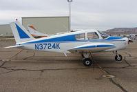 N3724K @ CNY - 1967 Piper PA-28-140, c/n: 28-23703 at Moab
