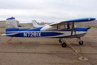 N7281X @ CNY - 1961 Cessna 150B, c/n: 15059381 at Moab