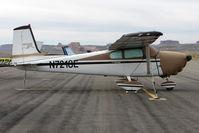 N7218E @ CNY - 1959 Cessna 182B, c/n: 52218 at Moab
