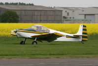 G-AYFF @ EGBR - Rollason Druine D62B Condor at Breighton Airfield, UK in April 2011. - by Malcolm Clarke